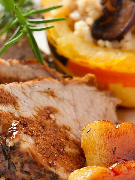 Slow Cooker Pork Tenderloin with Sweet Potatoes and Apples