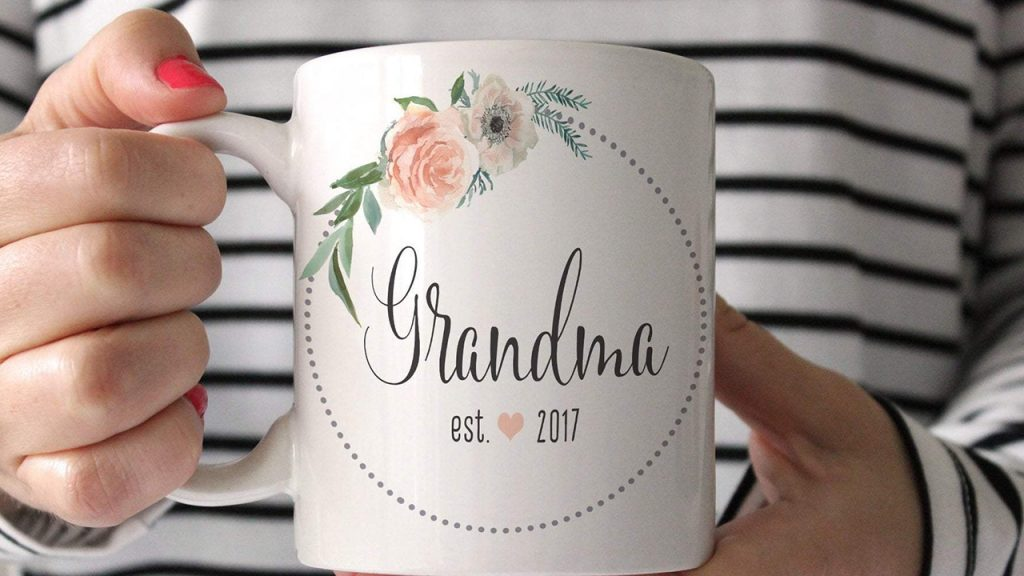 A mug labeled Grandma.