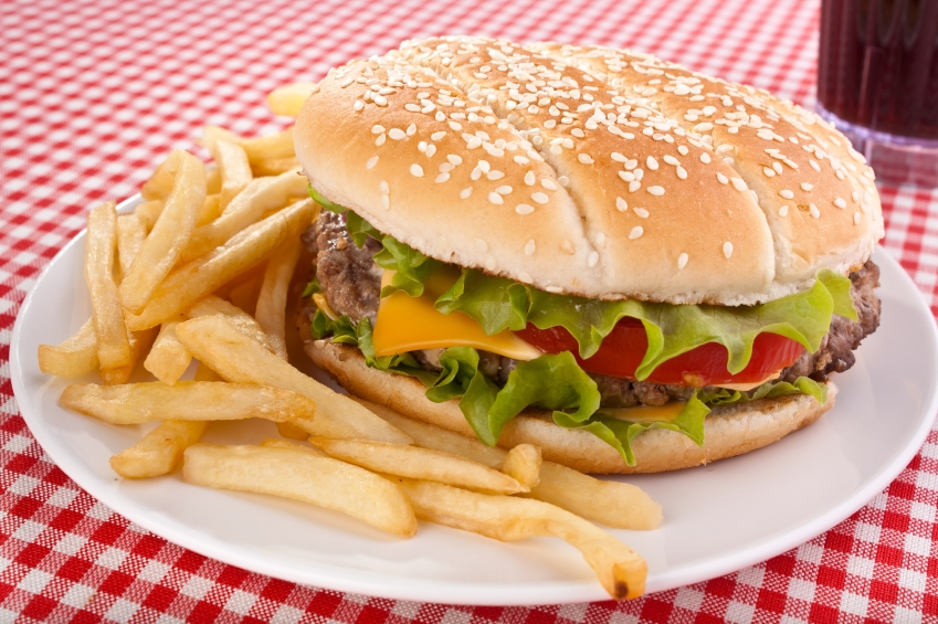 Finding healthy fast food
