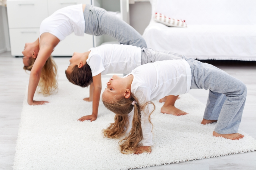 Easy ways to workout while home with kids today s parent