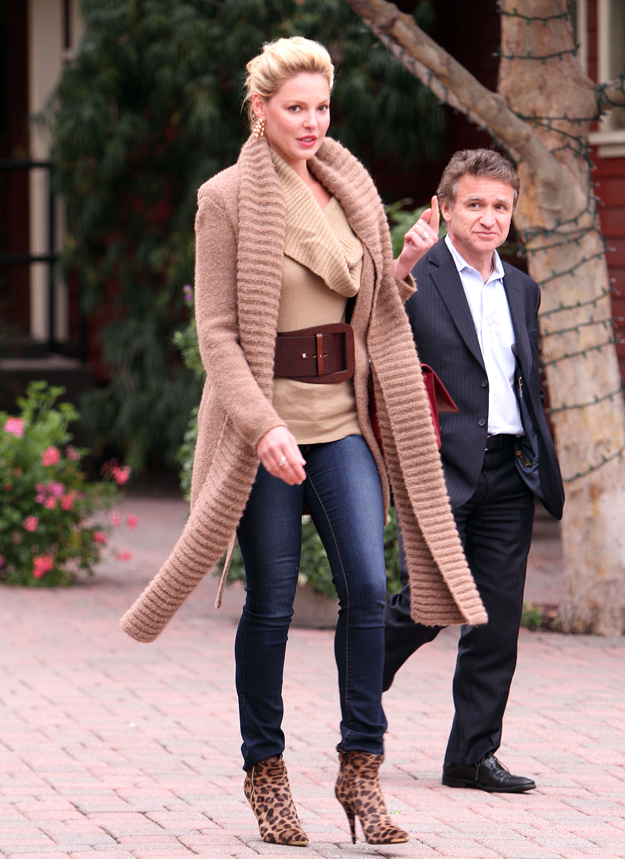 Yea Or Nay Katherine Heigl Look Of The Day Today S Parent