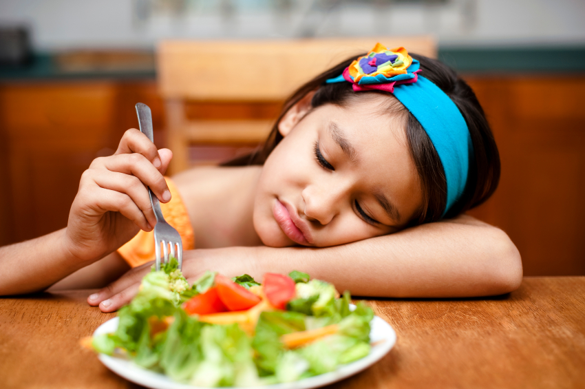 Child Throws Up When Trying New Foods