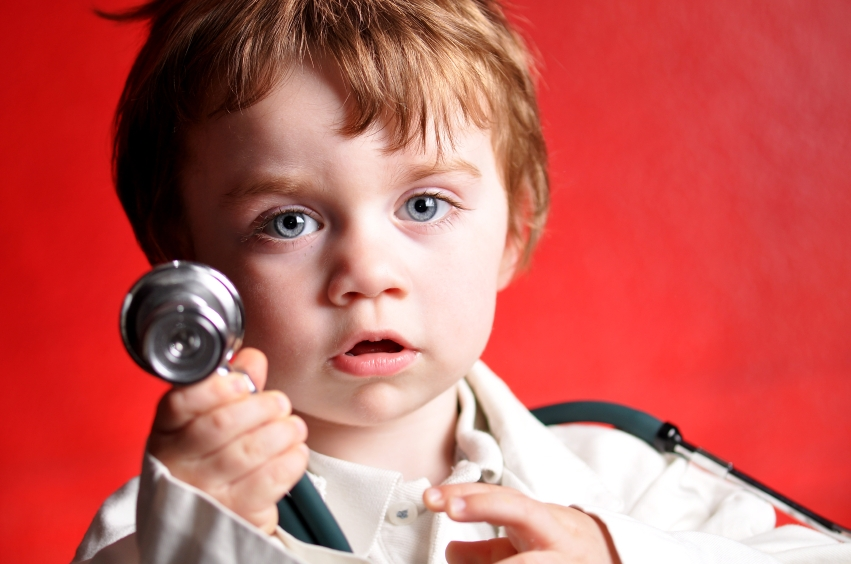 Image result for child playing doctor