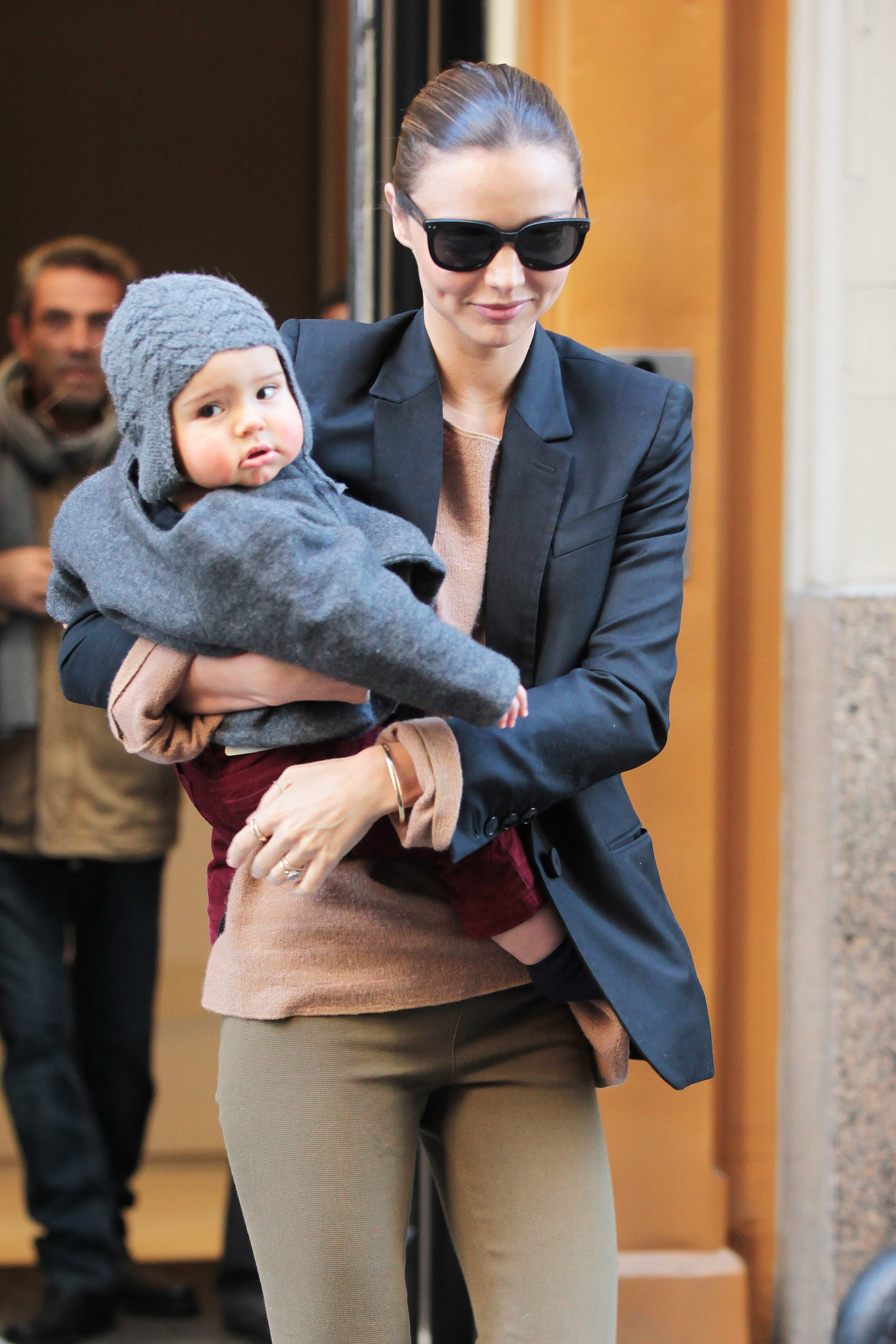 Ultimate Motorcycle Seats >> PHOTO: Miranda Kerr and baby Flynn Bloom (cute!) - Today's ...