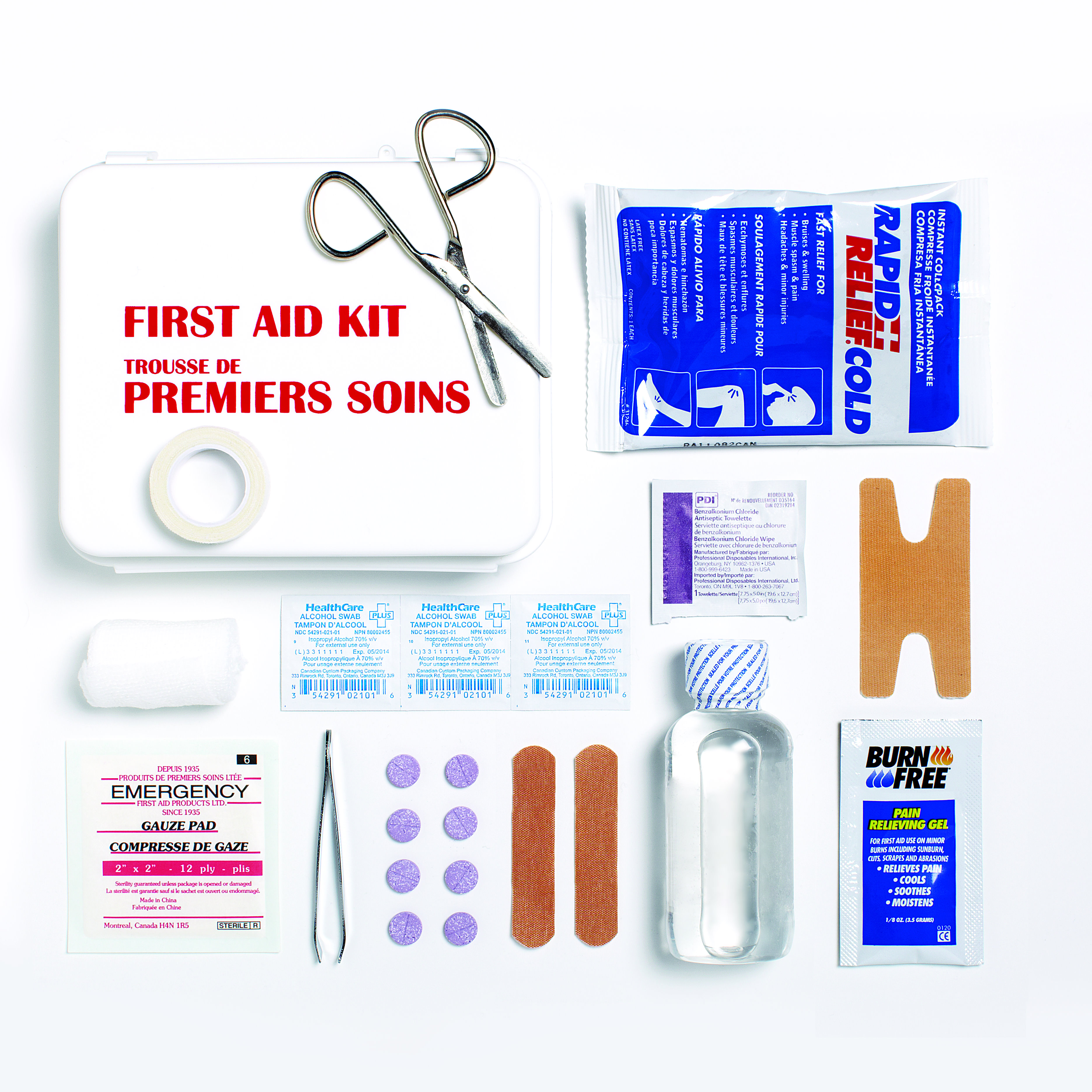 First Aid Kit Checklist Today S Parent