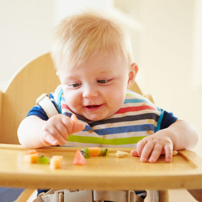 What Food Can A  Month Old Baby Eat