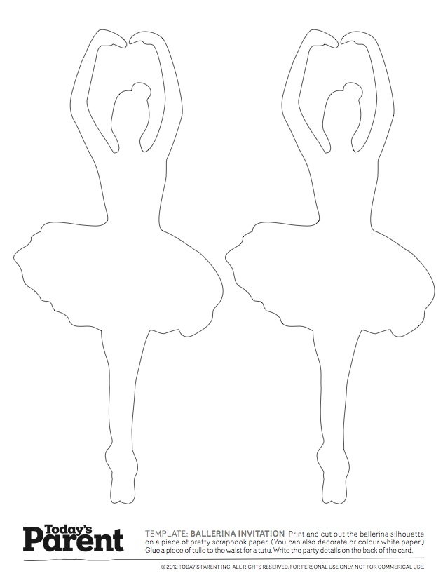 ballerina template today s parent