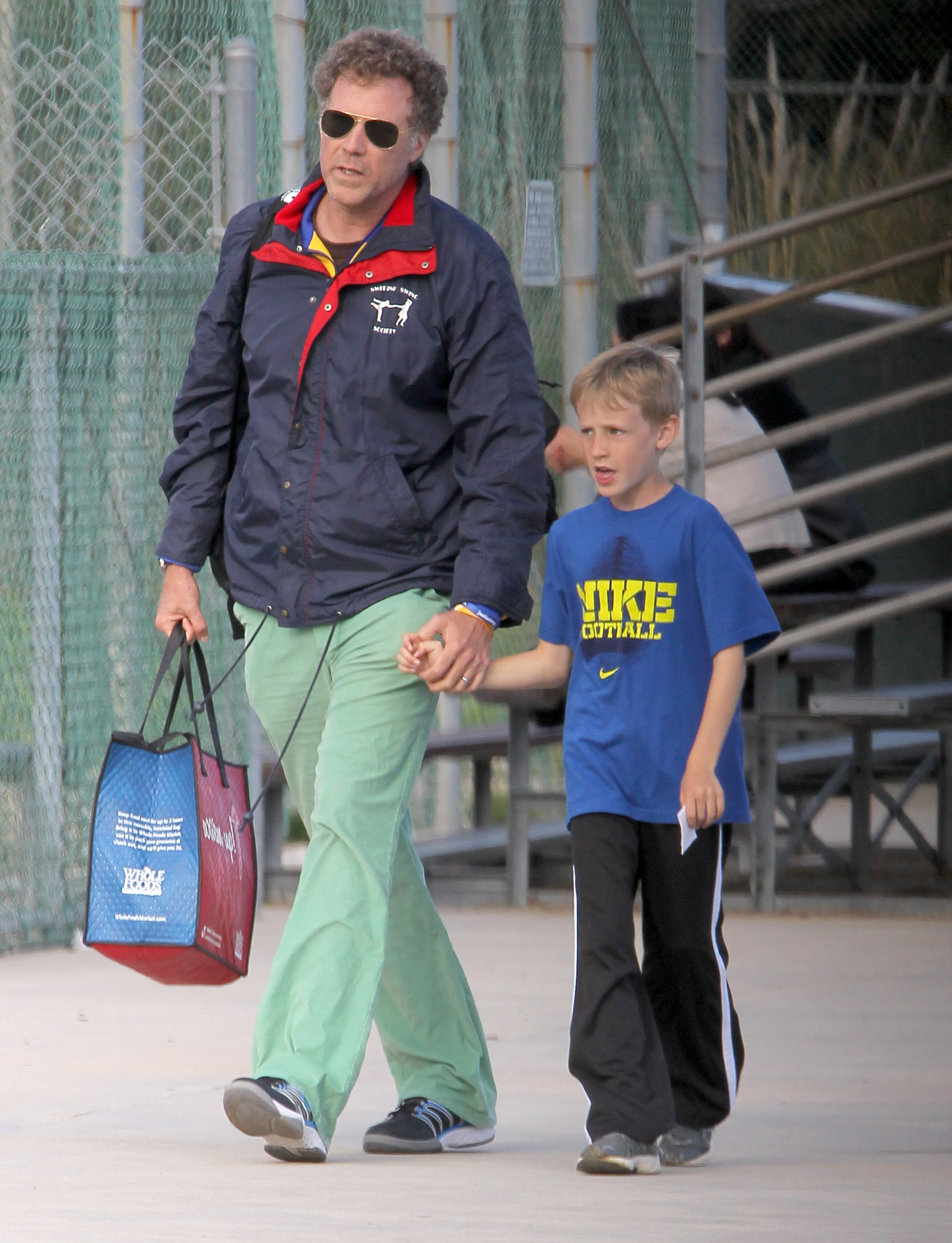 will ferrell and his son magnus aww   today s parent
