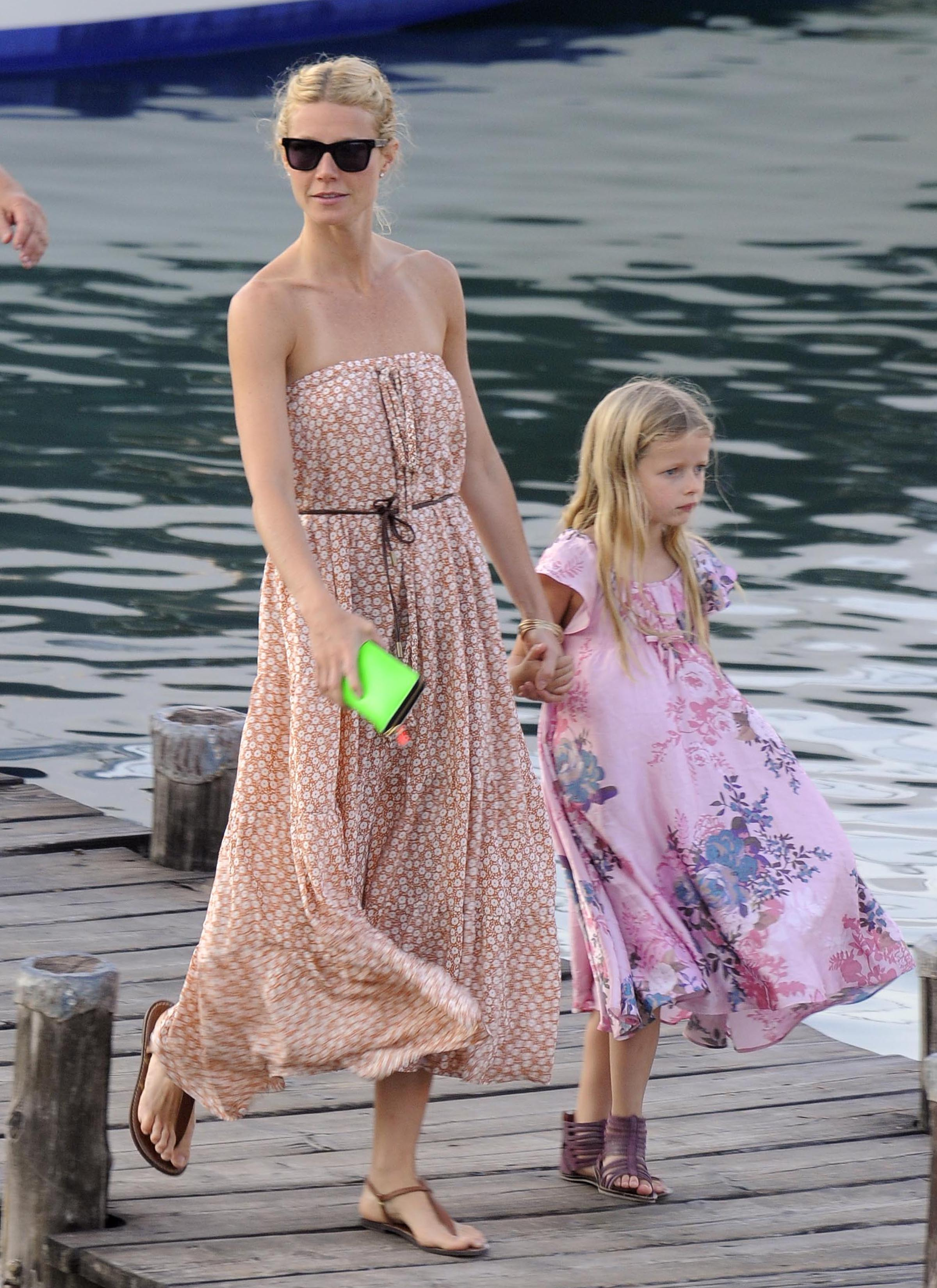 gwyneth paltrow explains the name quotapplequot todays parent