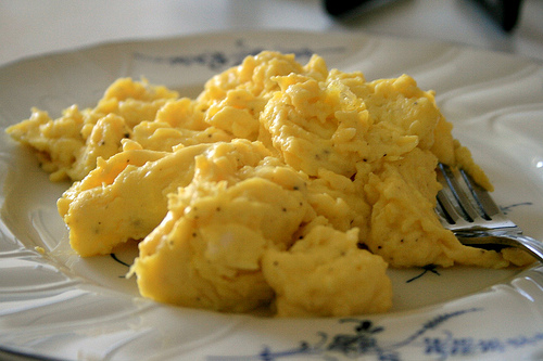 Scrambled Eggs In The Microwave Today S Parent