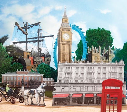 Postcard from London, England