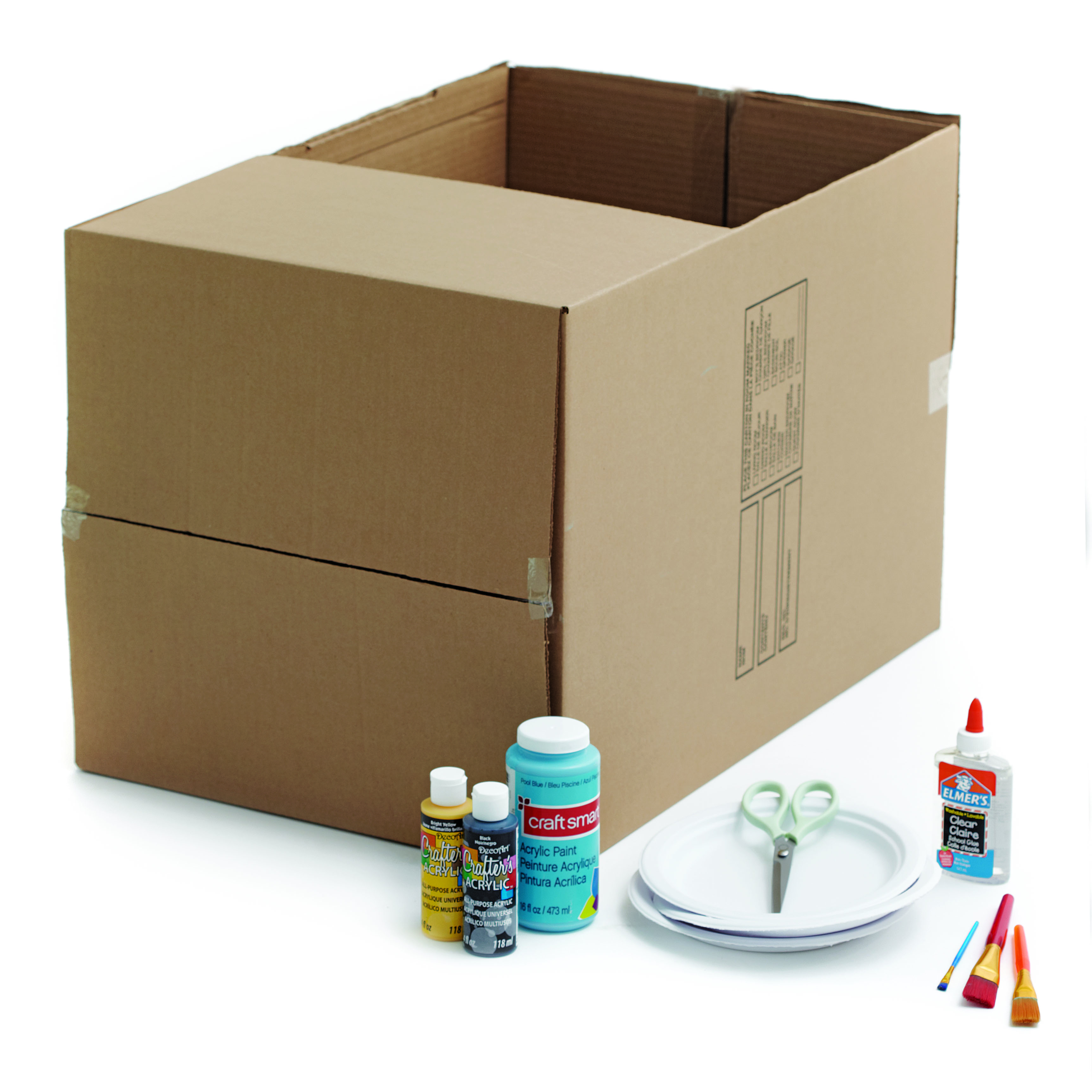 Craft How To Make A Box Car Today S Parent