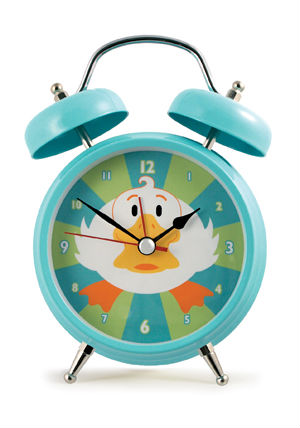 sing my name alarm clock instructions
