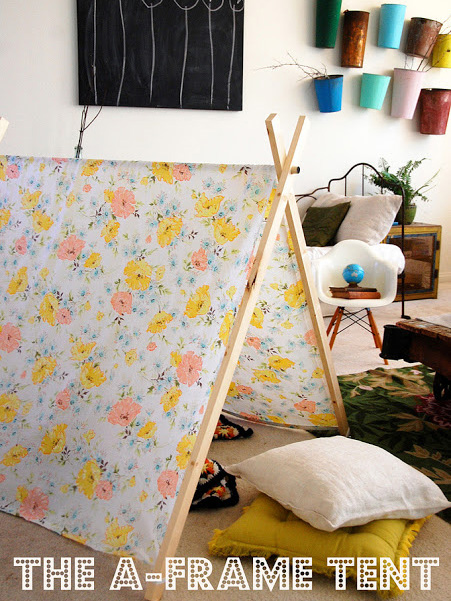 9 creative indoor forts today 39 s parent for How to make a tent in your living room