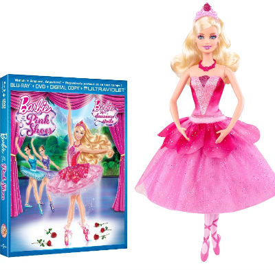 DVD release: Barbie In the Pink Shoes