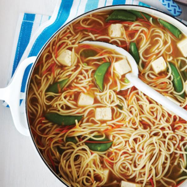 Soupy Asian Noodles