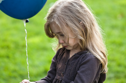 Image result for crying child with a balloon