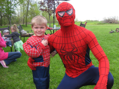 Executive editor Kerrie Lee Brown thinks having Spider-Man hang around at her sonu0027s birthday party was the best money she ever spent.  sc 1 st  Todayu0027s Parent & Birthday parties: Hiring an entertainer - Todayu0027s Parent