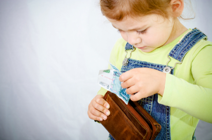 Why I bought my 10-year-old a wallet