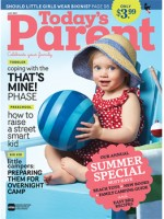 Todays Parent July 2013 cover