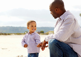 Tools-father-son-beach-istock