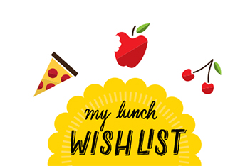 School lunch planner printable template
