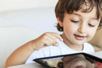 Is using a tablet to keep your kid occupied lazy parenting?