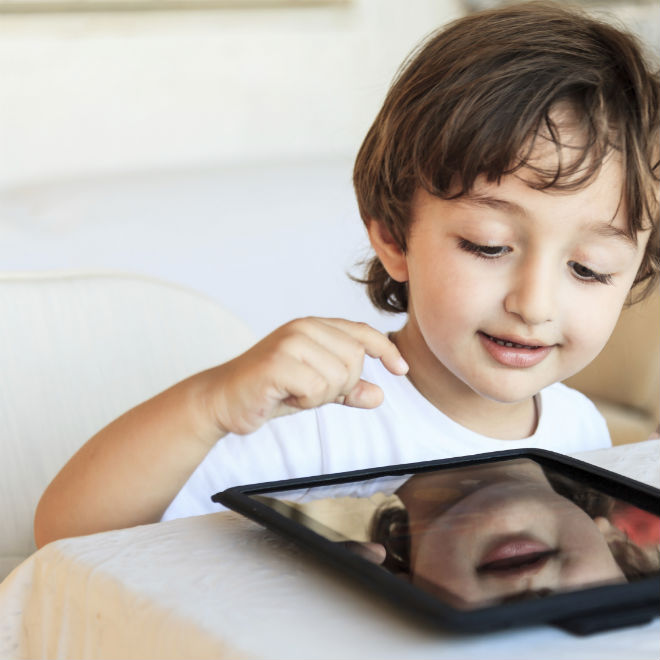 Is Using A Tablet To Keep Your Kid Occupied Lazy Parenting