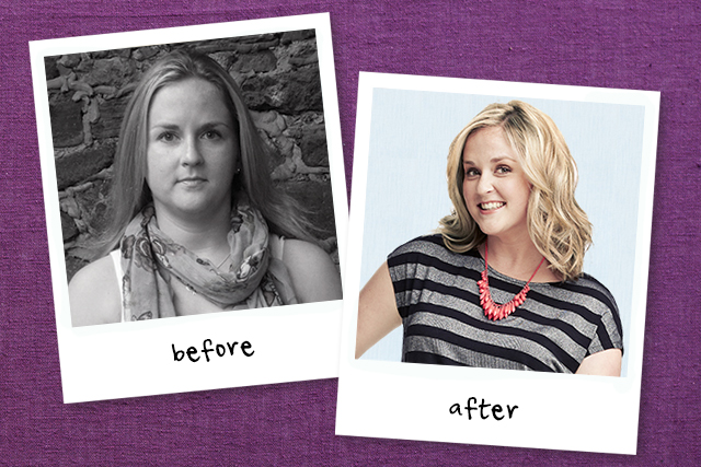 Mom Hair And Fashion Makeovers Mom Makeover Before And After | sponsored before and after 6 mom makeovers today s parent