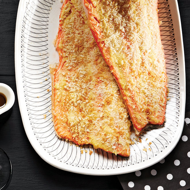 Crispy oven baked trout recipe today 39 s parent for Crispy baked whiting fish recipes