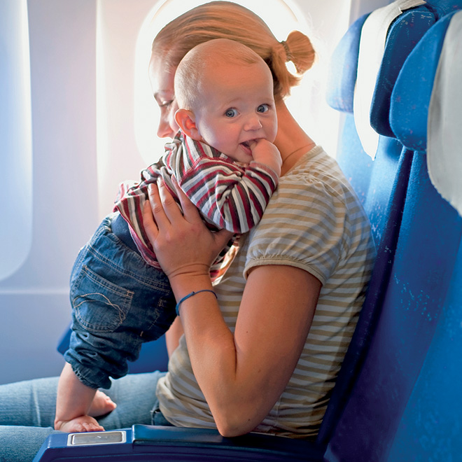 Flying With Your Baby Doesn T Have To Be A Nightmare