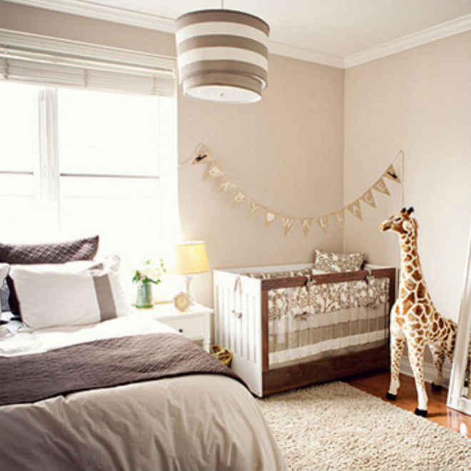 Sharing A Room With Baby: 8 Space-saving Ideas - Today