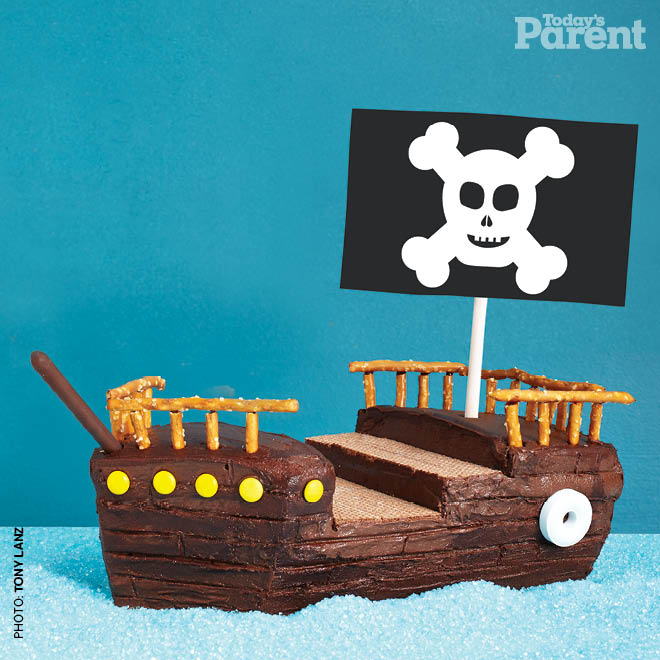 Kids Birthday Cake Ideas Pirate Ship Today S Parent