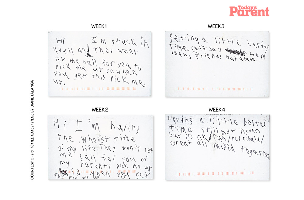 Hilarious letters from summer camp
