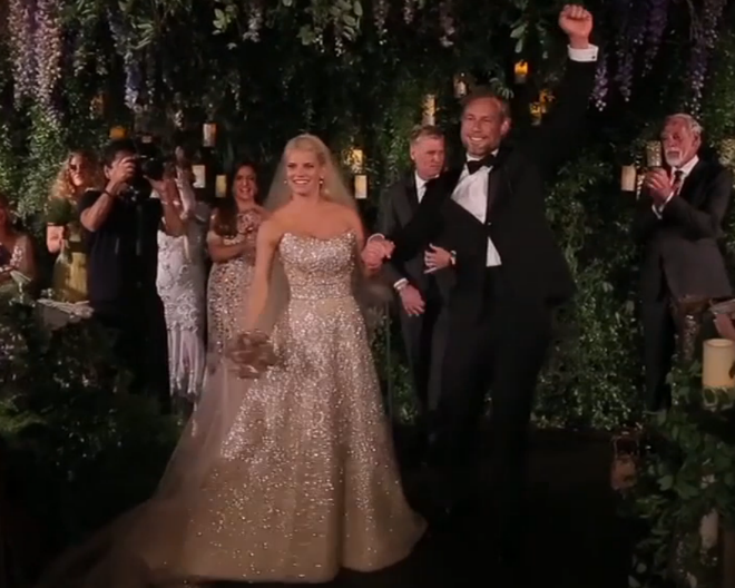 Video: Jessica Simpson wedding dress, dancing, decor - Today\'s Parent