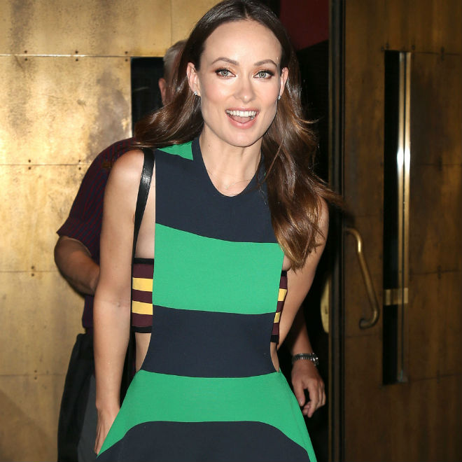 Olivia Wilde mom photo