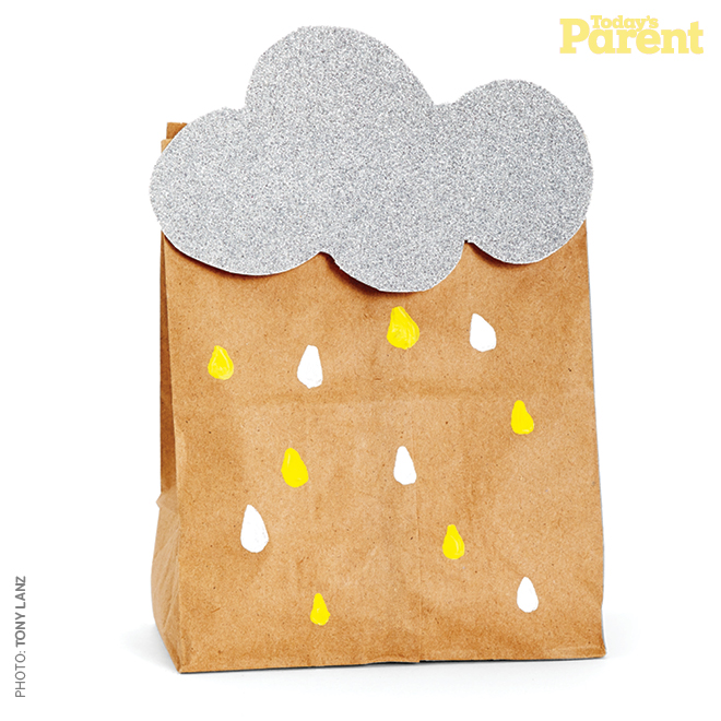 Celebrations Baby Shower Rain Shower Grey and Yellow Colour Theme7