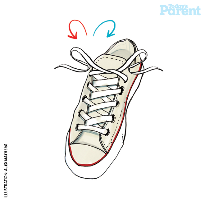 Pull Tight Kid Shoe Laces