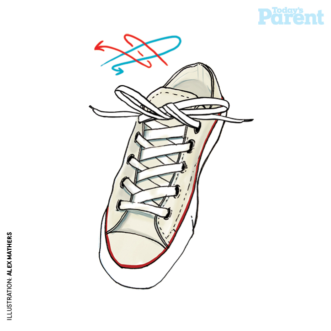 Teach your kids to tie shoelaces todays parent a version of this article appeared in our september 2014 issue with the headline quick fixes how to tie shoelaces p 48 ccuart Images
