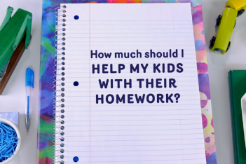 How much should I help my child with homework?