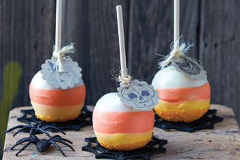 Candy-Corn Apples