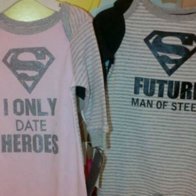Sexist Superhero Shirts Appear In Popular Retail Chains