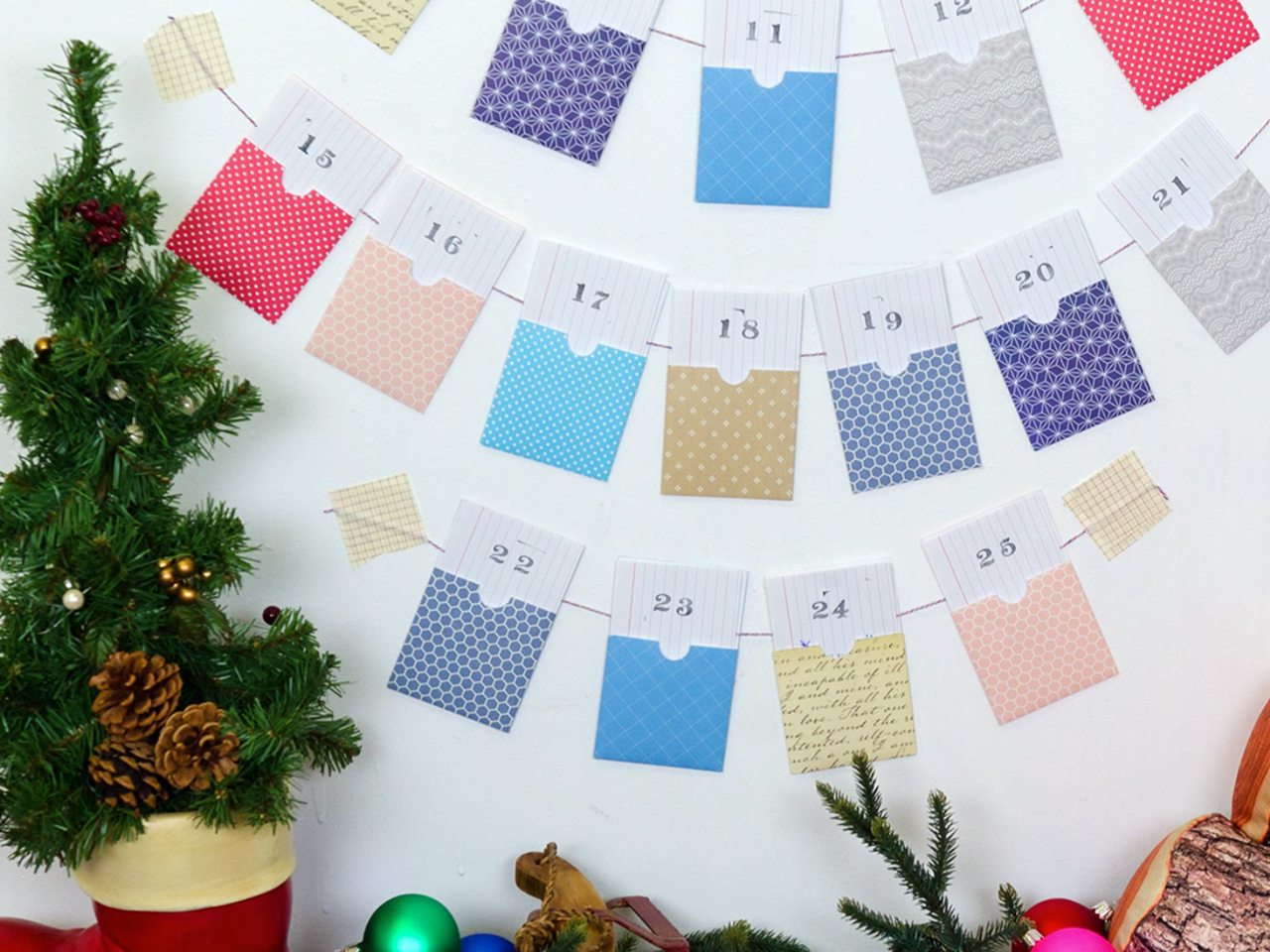 Crafting for kids: Advent calendar