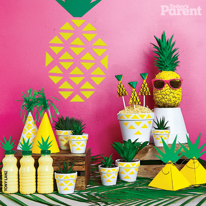 How to throw a pineapple party - Today's Parent