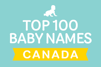 Top 100 baby names in Canada for 2016