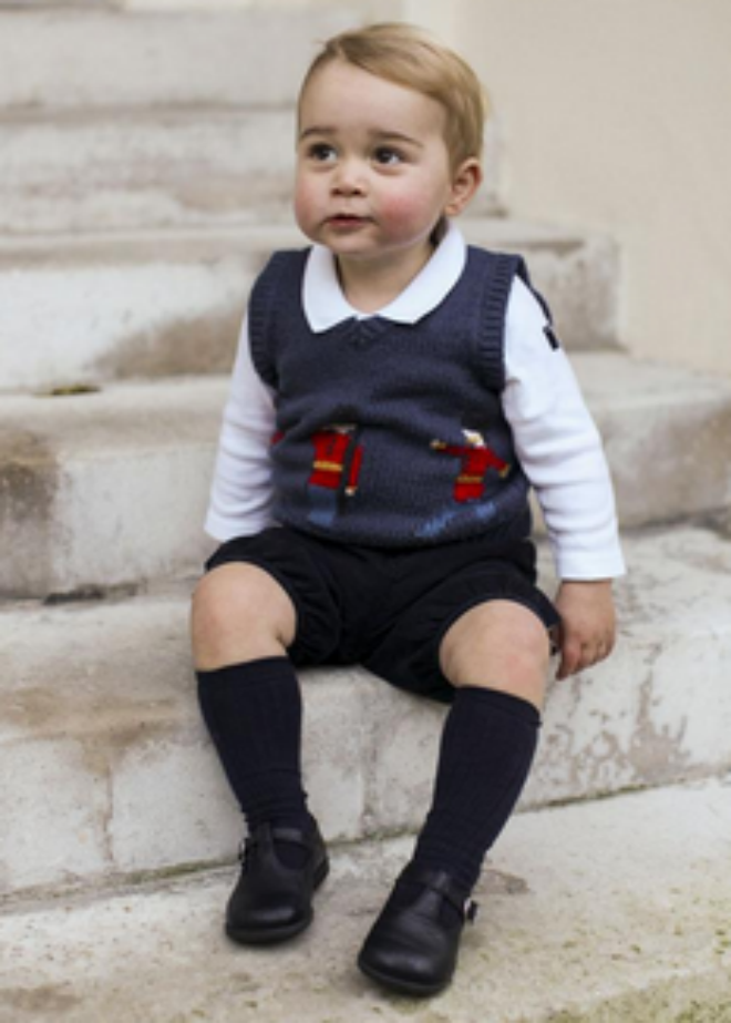 Photo: Prince George via Clarence House, Twitter