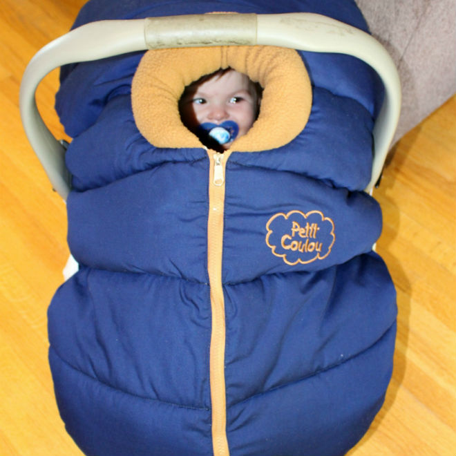 Petit Coulou Protective Cover For Baby Car Seat