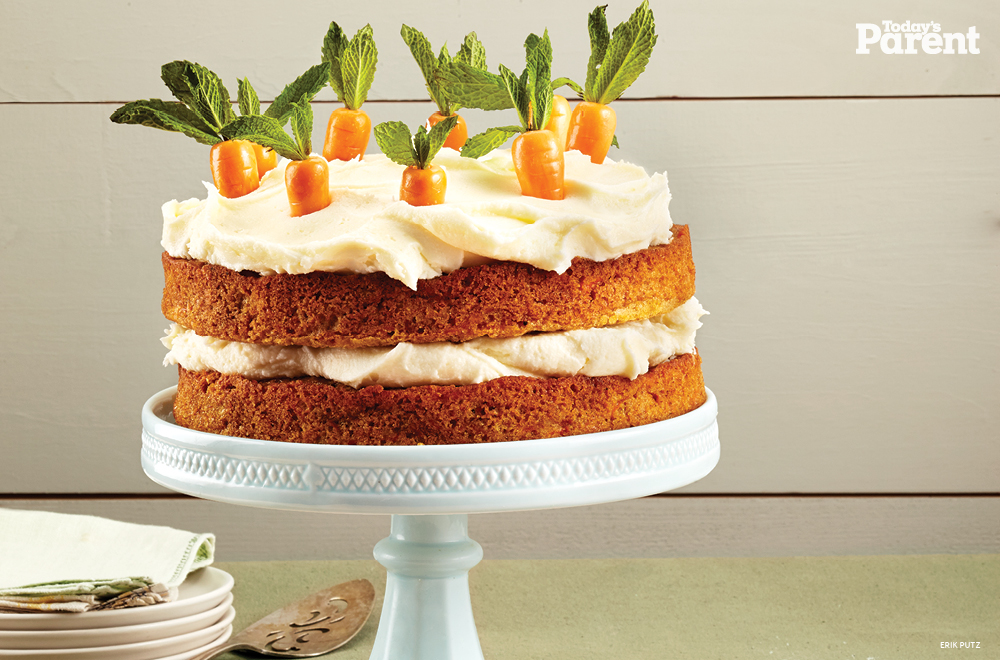 1. Carrot Cake with Cream Cheese Icing