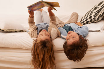 Dads make better readers?! Pfft, tell me another story