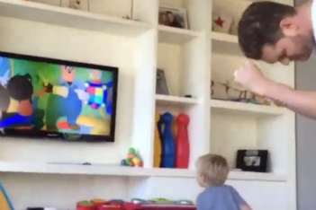 Must-see cuteness: Michael Bublé dancing with his son (video)
